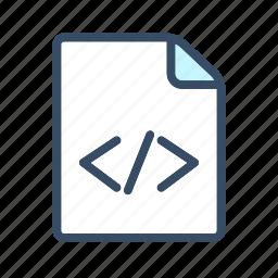 data document, developer, html, html document, html format icon