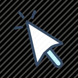 cursor, developer, mouse click, mouse cursor icon