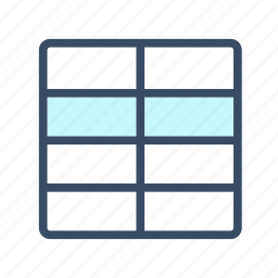 developer, grid, html table, table icon