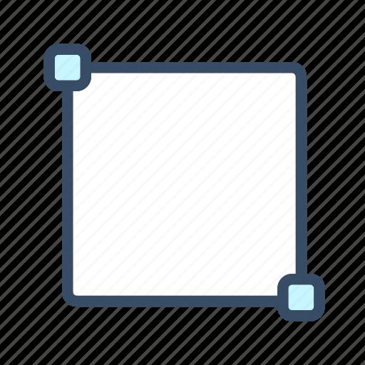 box, create box, developer, rectangle, shape, tool icon
