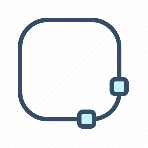 create rounded box, developer, rounded box, shape, tool icon