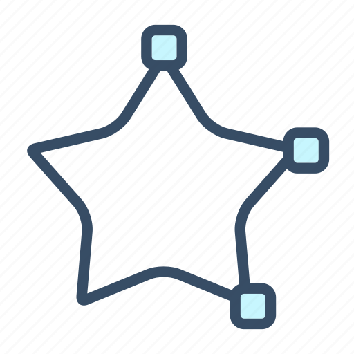create star, developer, shape, star, tool icon
