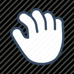 developer, hand, hold, move icon
