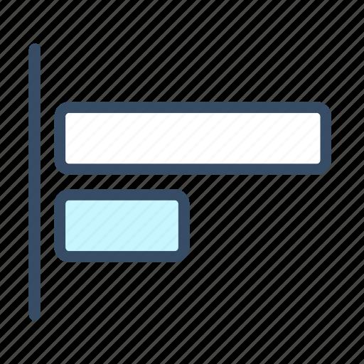 align to left, developer, left, left align icon