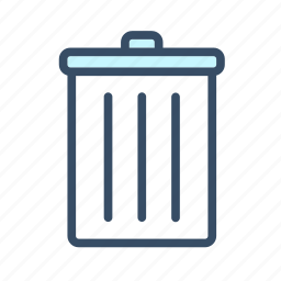 cancel, delete, developer, remove, trash icon