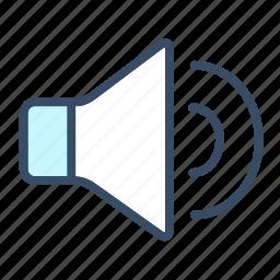 developer, music, sound, speaker, voice icon