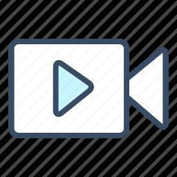 animation, clip, developer, film, movie, video icon