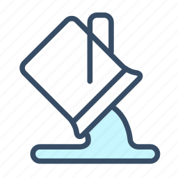 bucket, color, developer, fill, paint bucket icon
