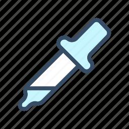 color, color picker, developer, dropper, eye dropper icon