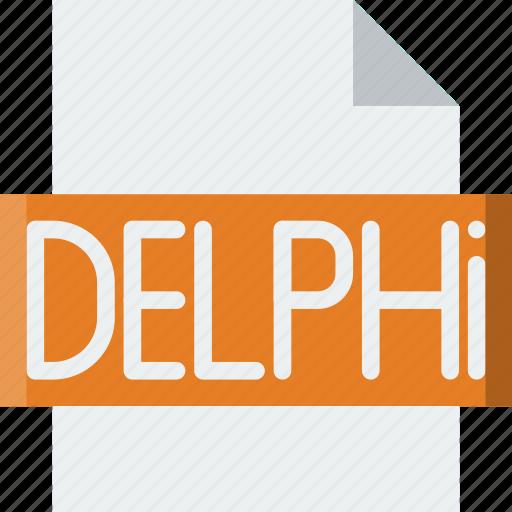 code, coding, delphi, development, file, programming icon