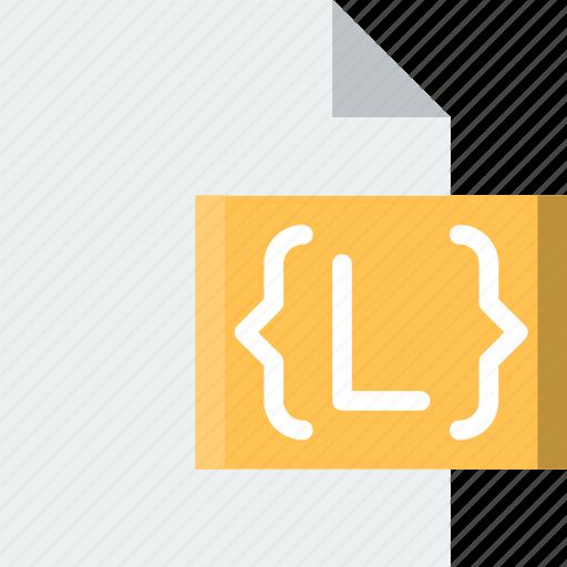 brackets, code, coding, development, file, programming icon