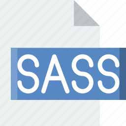code, coding, development, file, programming, sass icon