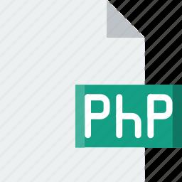 code, coding, development, file, php, programming icon
