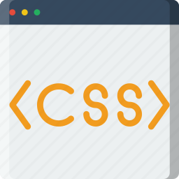 code, coding, css, development, programming icon