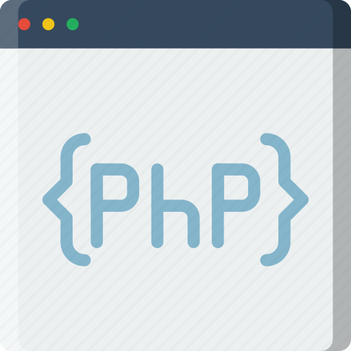 code, coding, development, php, programming icon