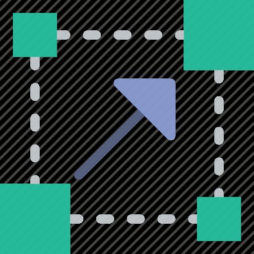code, coding, cursor, development, placement, programming icon
