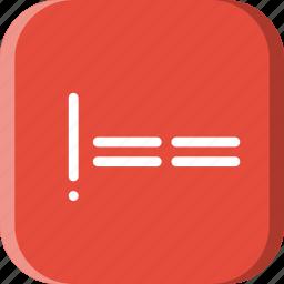 code, coding, development, equal, no, programming, to icon