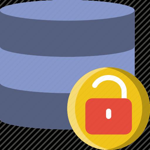 code, coding, database, development, programming, unlocked icon