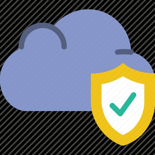 cloud, code, coding, development, programming, secure icon