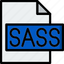 code, coding, development, file, programming, sass icon
