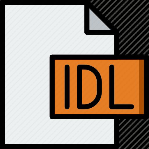 code, coding, development, file, idl, programming icon