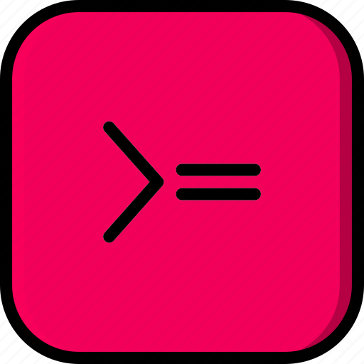 code, coding, development, greater, programming, than icon