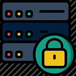 code, coding, databases, development, locked, programming icon