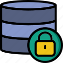 development, code, locked, database, coding, programming icon