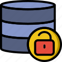code, coding, database, development, programming, unlocked icon