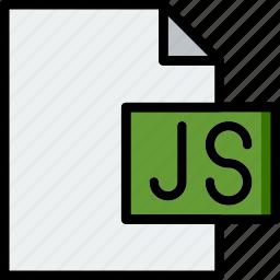 code, coding, development, file, js, programming icon