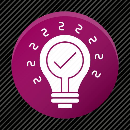 development, idea, innovation, startup icon