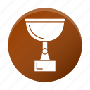 development, reward, startup, trophy icon