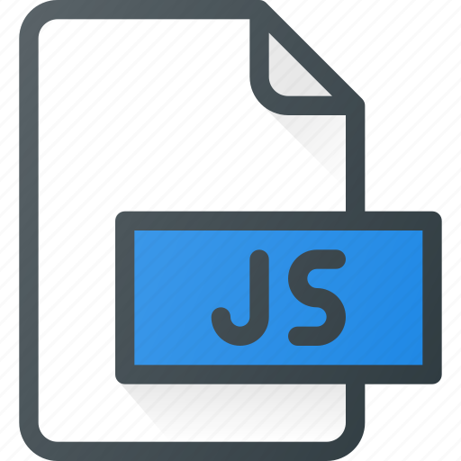 development, extension, file, js, programing, type icon