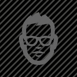 developer, man icon