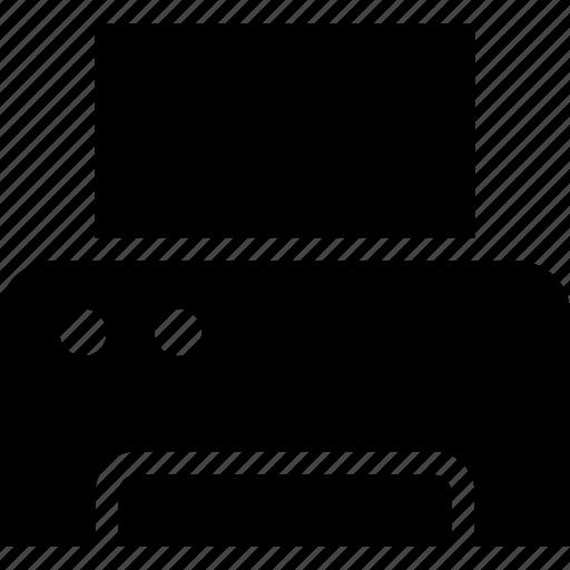 device, digital, electronic, printer, technology icon