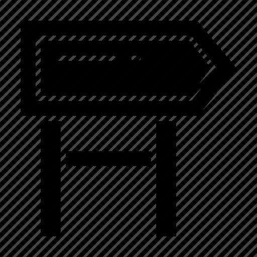board, direction, location, motivation icon
