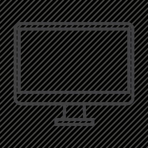 device, display, electronic, gadget, imac, mac, monitor icon