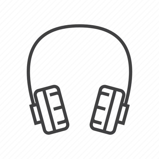 device, earphone, electronic, gadget, headset, music icon