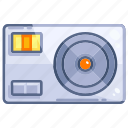 computer, device, hardware, power, supply, technology icon