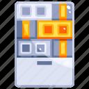 device, hardware, server, technology icon
