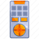 device, hardware, remote, technology, tv icon