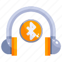 device, hardware, headphones, music, technology icon