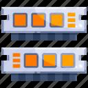 computer, device, hardware, ram, technology icon