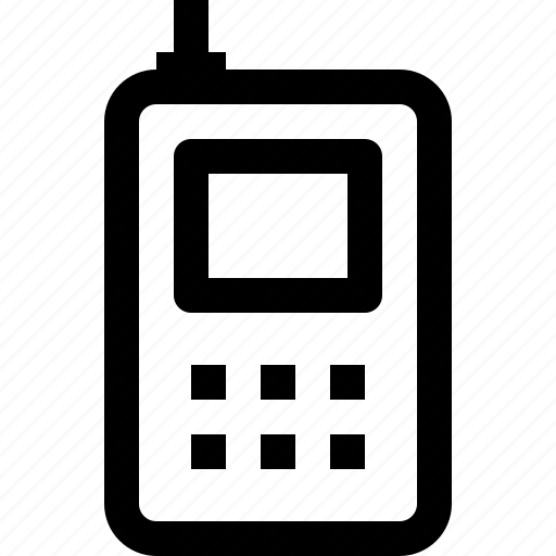 device, equipment, office, phone, technology icon