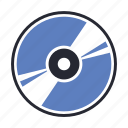 cd, compact, disc, disk, dvd icon