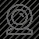 cam, camera, gadget, webcam icon