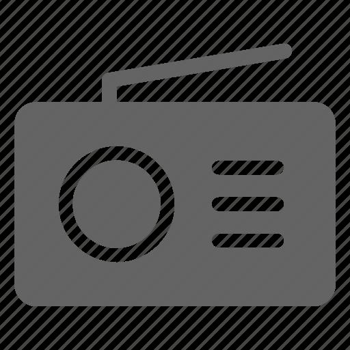 audio, fm, radio icon