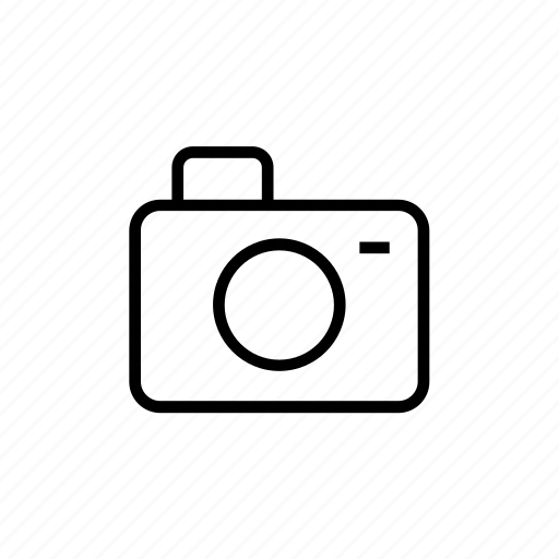 camera, outline, photo, photograph, photography, picture icon
