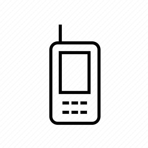 cell phone, device, mobile phone, mobilephone, mobilephone03, outline, smartphone icon