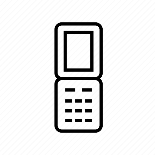 cell phone, device, mobile phone, mobilephone, mobilephone04, outline, smartphone icon